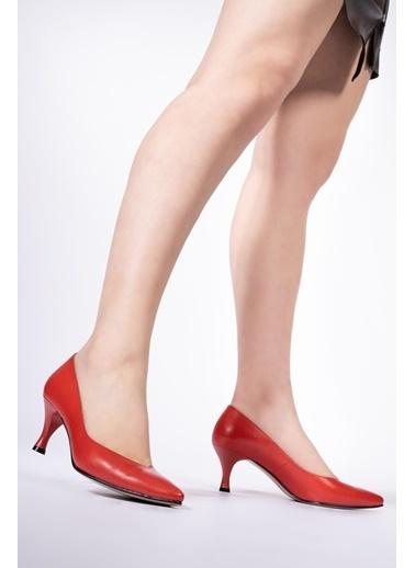 CZ London Ayakkabı Kırmızı